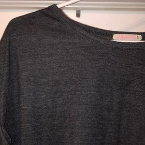 Ardene Tops - Grey cropped tee, very comfy & casual